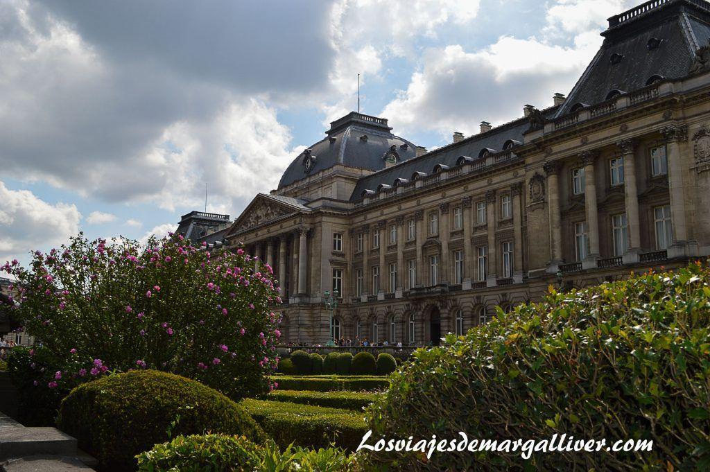 Palacion de la nación en Bruselas - Los viajes de Margalliver